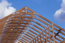 High-Quality Wooden Roof Trusses